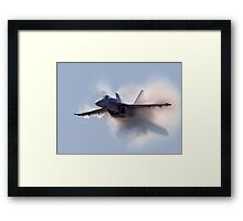 F/A 18 Super Hornet Framed Print
