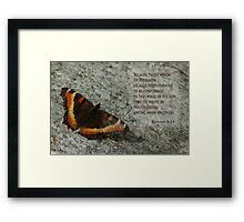 Predestined to be Conformed ~ Romans 8:29 Framed Print