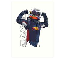 Daniel Ricciardo Art Print