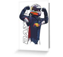 Daniel Ricciardo Greeting Card
