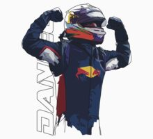 Daniel Ricciardo by Tom Clancy
