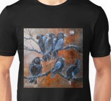 """The Courtroom Public Gallery (from """"A Murder of Crows"""") Unisex T-Shirt"""