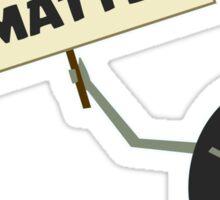 Black Lives Matter Parody Sticker