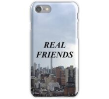 Real Friends band iPhone Case/Skin