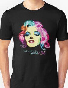 Geometric Marilyn Unisex T-Shirt
