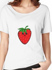 Cute Strawberry Women's Relaxed Fit T-Shirt