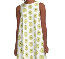 """""""The First Pitch"""" A-Line Dress"""