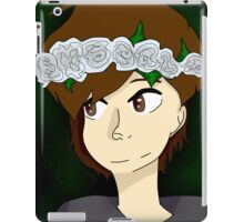 Flower Crown Leafy iPad Case/Skin