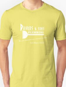 Davros and sons, plumbers... T-Shirt