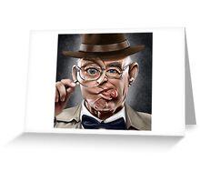 The Wacky Inspector Greeting Card