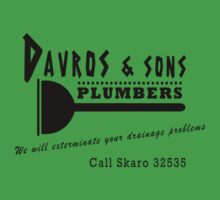 Davros and sons, plumbers... Baby Tee
