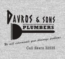 Davros and sons, plumbers... Kids Clothes