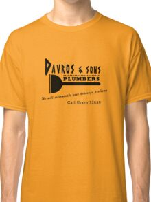 Davros and sons, plumbers... Classic T-Shirt