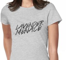 Lavender Menace Womens Fitted T-Shirt