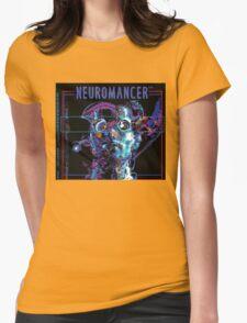 Neuromancer Womens Fitted T-Shirt