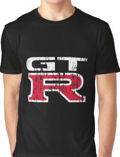 GT-R Grunge 2 Graphic T-Shirt