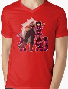 Jasper and the Rubies Mens V-Neck T-Shirt