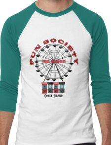 Fun Society Men's Baseball ¾ T-Shirt