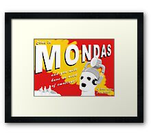 Come to Mondas! Framed Print