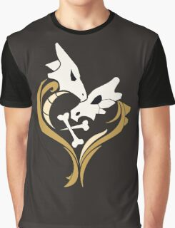 Lone Hearted ~ Cubone and Marowak  Graphic T-Shirt