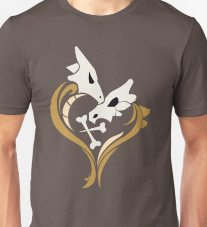 Lone Hearted ~ Cubone and Marowak  Unisex T-Shirt