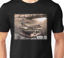 Aircraft carrier Ronald Reagan Unisex T-Shirt