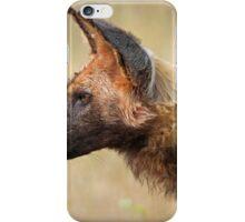 Wild Dog Profile iPhone Case/Skin