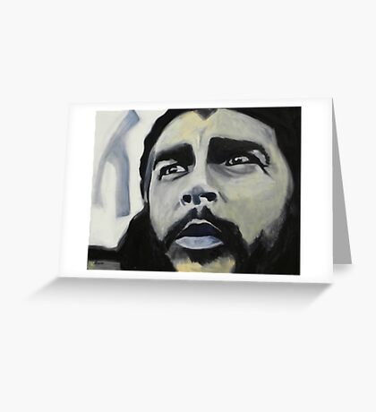 Che the revolutionary Greeting Card