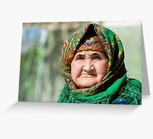 Old women Greeting Card