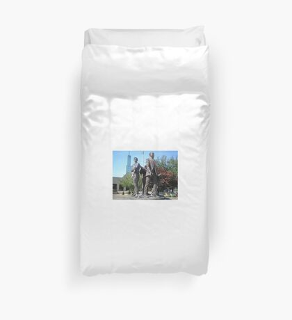 Martin Luther King Statue, Portland, OR Duvet Cover