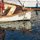 Beryl - Lyme Regis Harbour by Susie Peek