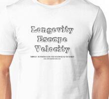Longevity Escape Velocity Unisex T-Shirt
