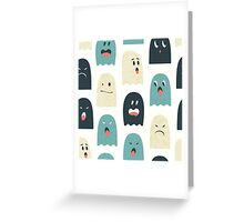 Lovely monsters Greeting Card