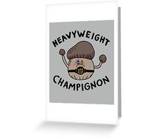 Heavyweight Champignon Greeting Card