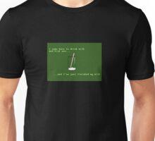 Drink milk and kick ass! Unisex T-Shirt