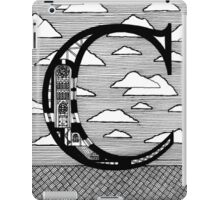 Letter C Architecture Section Alphabet iPad Case/Skin