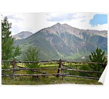 Mountain Country Poster