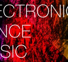 Electronic Dance Music Sticker