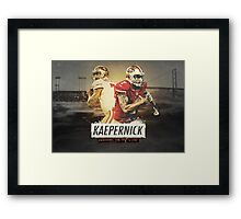 Perfect Duo Arrives on the scene Framed Print