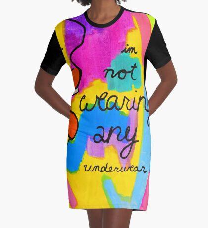 Victoria's Secret Graphic T-Shirt Dress