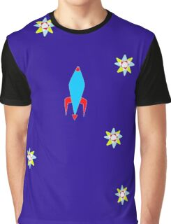 rocket ship Graphic T-Shirt