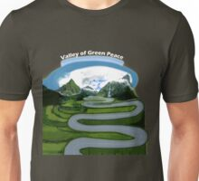 Waves form of road  Unisex T-Shirt