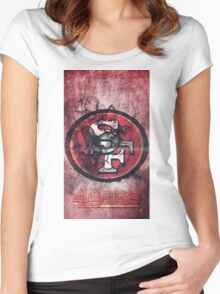 Special Forces on Field Women's Fitted Scoop T-Shirt