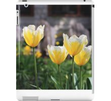 Bright tulips iPad Case/Skin