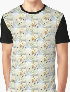 Vanilla Stars and Swirls - Cupcake  Graphic T-Shirt