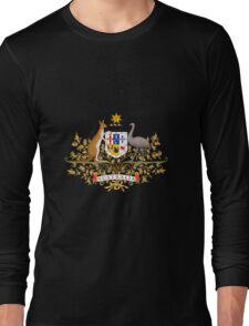 AUSTRALIAN COAT OF ARMS Long Sleeve T-Shirt