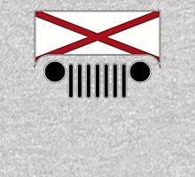 Alabama Flag Jeep Logo Unisex T-Shirt