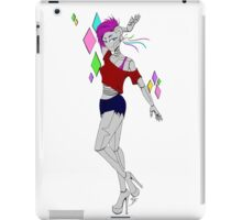 Rave robot iPad Case/Skin