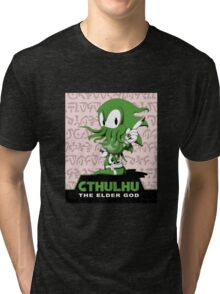 Cthulhu The Elder God Tri-blend T-Shirt