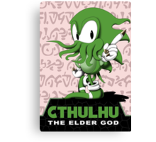 Cthulhu The Elder God Canvas Print